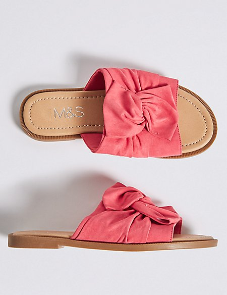 Kids' Bow Sandals (13 Small - 6 Large)