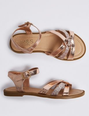6cfb38068d68 Kids  Sparkle Sandals (13 Small - 6 Large) £18.00 - £20.00