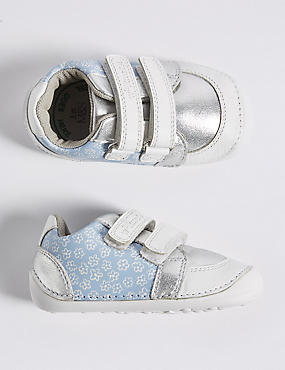 Kids' Leather Pre Walker Trainers (2 Small - 5 Small)