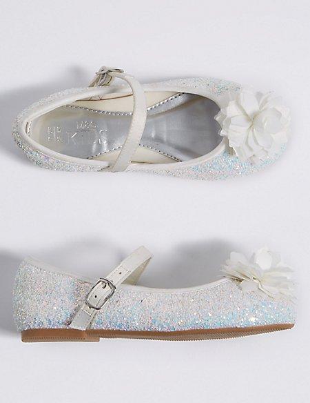 Kids' Bridesmaid Cross Bar Shoes (5 Small - 6 Large)