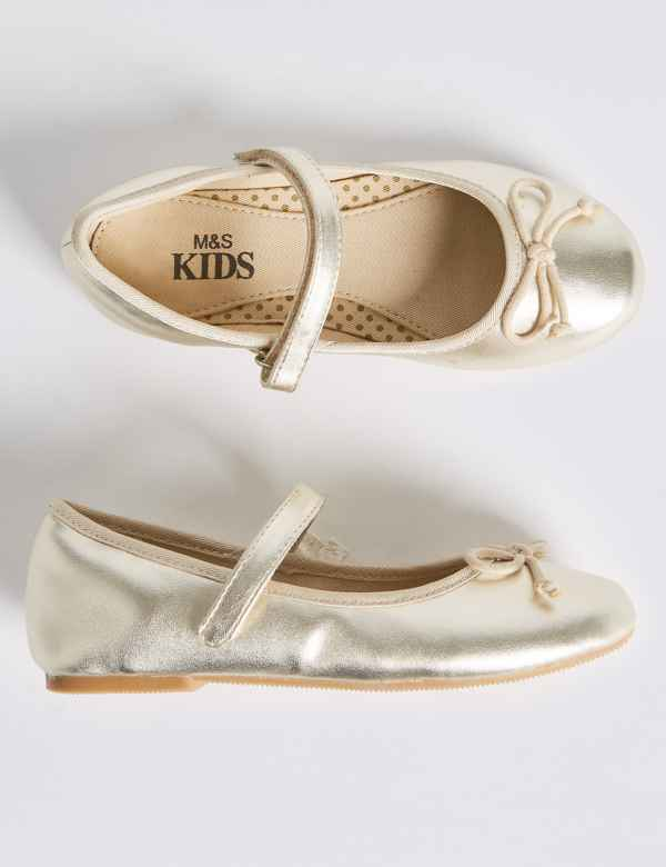 ff20ad453cbbe Kids' Metallic Ballet Shoes (5 Small - 12 Small)