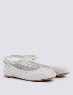 Kidsâ Bridesmaid Shoes 5 Small 6 Large