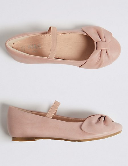 Kids' Bow Mary Jane Shoes (5 Small - 12 Small)