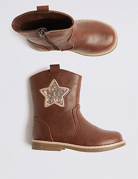 Kids' Star Boots (5 Small - 12 Small)