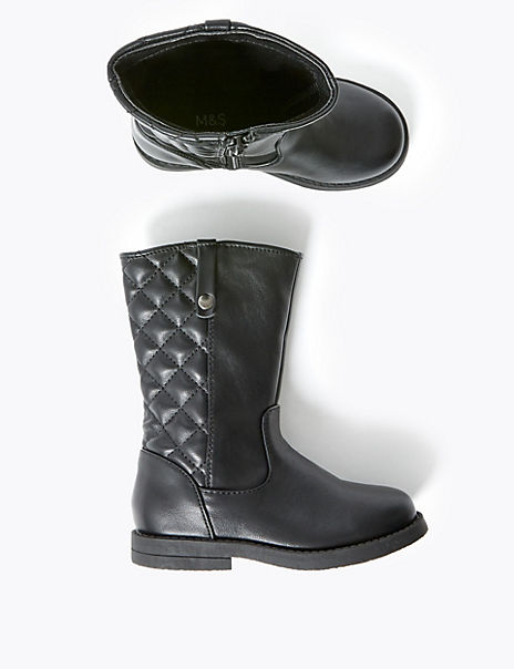Kids' Freshfeet™ Quilted Boots (5 Small - 12 Small)