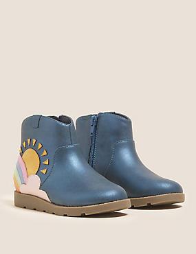 Kids' Freshfeet™ Rainbow Boots (5 Small - 12½ Small)