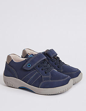 Kids' Walkmates™ Leather Trainers (4 Small - 11 Small)