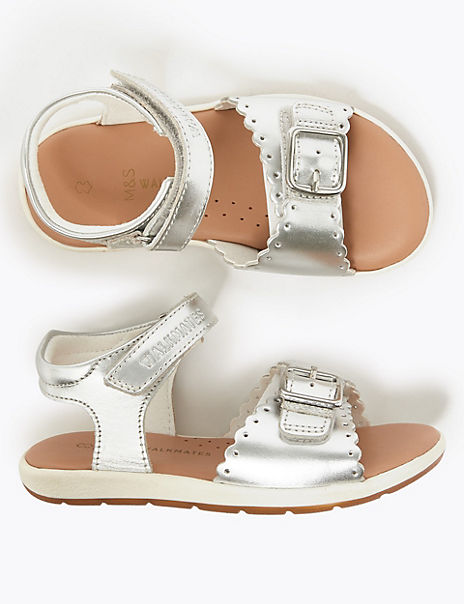 Kids' Leather Sandals (4 Small - 12 Small)