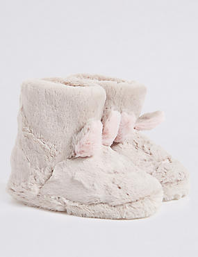 Kids' Bunny Slipper Boots