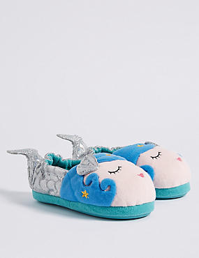 Kids' Mermaid Slippers (5 Small - 12 Small)