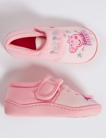 Peppa Pig™ Slippers (5 Small - 12 Small)