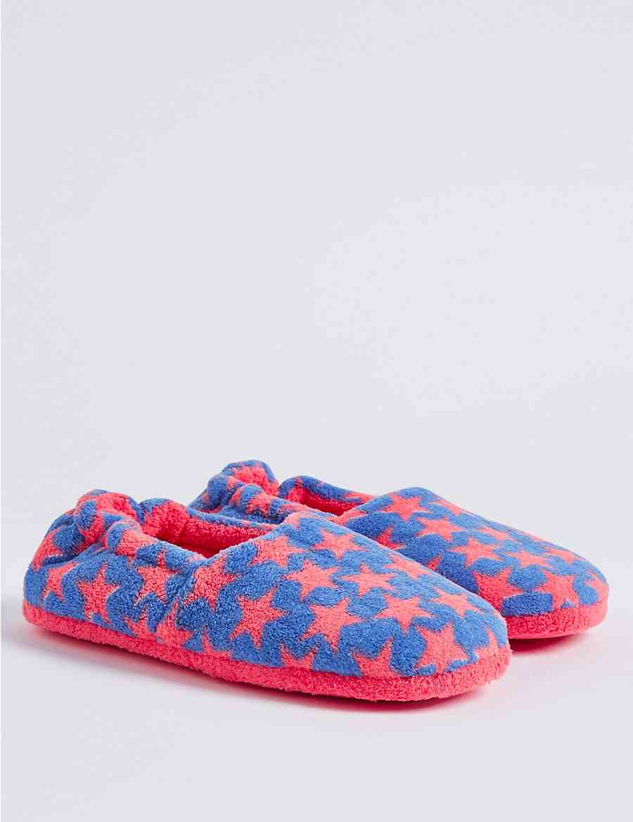 b305064c84cd Kids  All Over Star Print Slippers (13 Small - 6 Large)