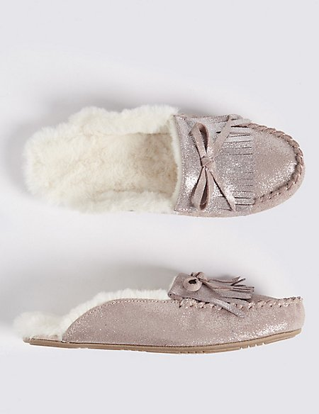 Kids' Slip-on Mules Slippers (13 Small - 6 Large)