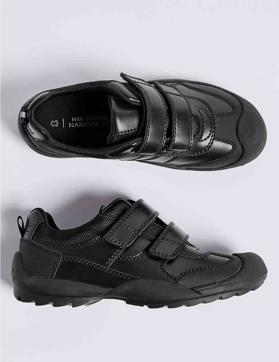 6891c9d2df Kids  Leather School Shoes (13 Small - 9 Large)