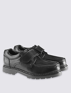 Kids' Leather School Shoes (13 Small - 8 Large)