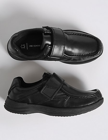Kids' Leather Fashion Trainers (13 Small - 8 Large)