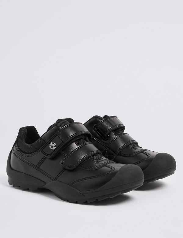 bb50ee688 Kids' Leather School Shoes (8 Small - 1.5 Large)