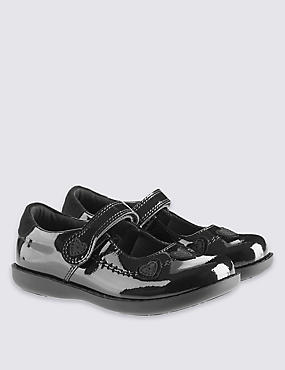 Kids' Leather Standard Fit School Shoes - Whole Sizes
