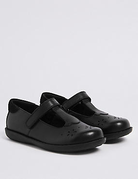 1c35b23a4a Dětská kožená školní obuv s nbsp páskem přes nárt (8 malé ...