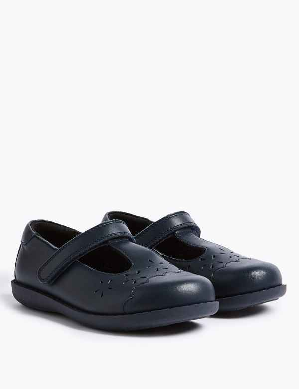 Kids  Leather School Shoes (8 Small - 1 Large) 0558a8185041