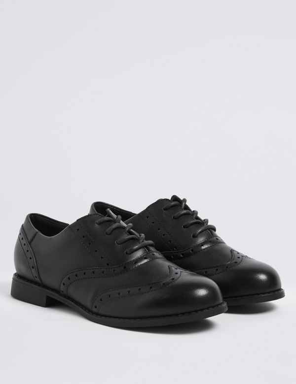 e6ca4f3e9 Kids  Leather Brogue School Shoes (13 Small - 7 Large)