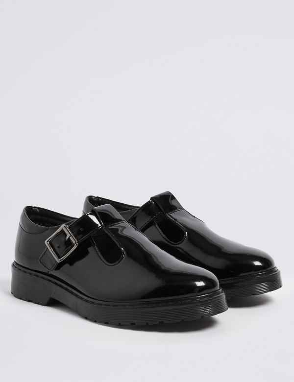Kids  Leather T-Bar School Shoes (13 Small - 7 Large) d638d87f4