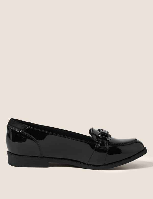 9f40937e4b45 Kids Patent Leather Slip On Loafers (13 Small - 7 Large)