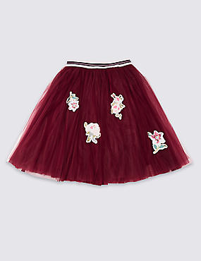 Embroidered Skirt (3-14 Years)