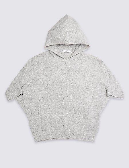 Marl Hooded Top (3-16 Years)