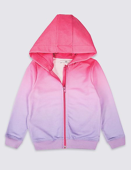 Ombre Zipped Sweatshirt (3-16 Years)