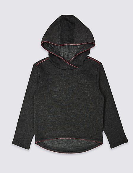 Cotton Blend Sweatshirt (3-16 Years)