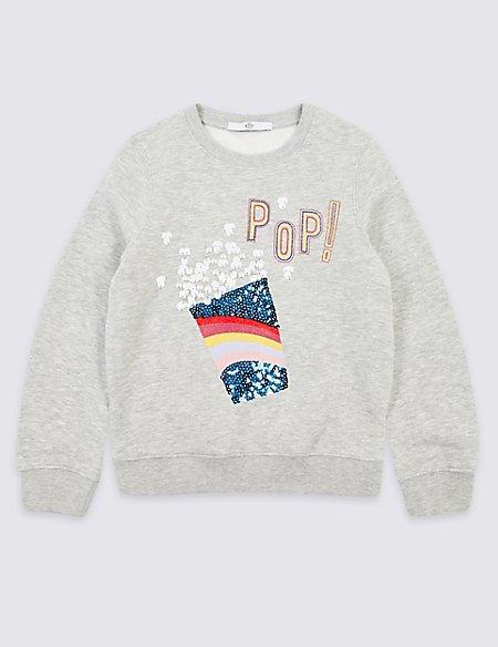 Popcorn Sweatshirt (3-16 Years)