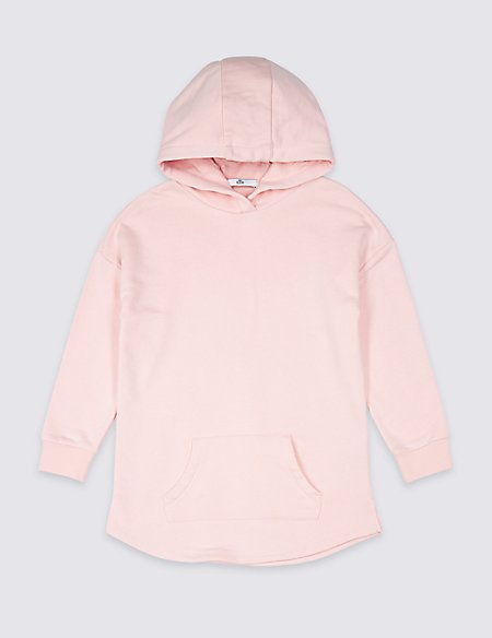 Longline Hooded Top (3-16 Years)