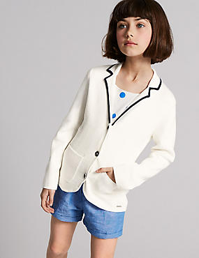 Cotton Rich Blazer (3-16 Years)