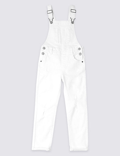 Cotton Dungarees with Stretch (3-16 Years)