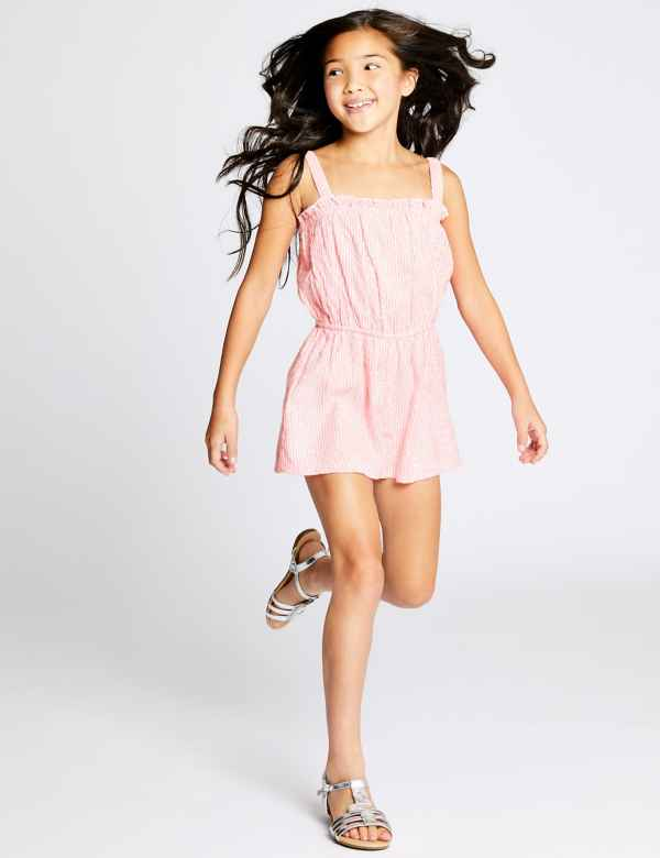 f4bf5383e13 Woven Playsuit (3-16 Years)