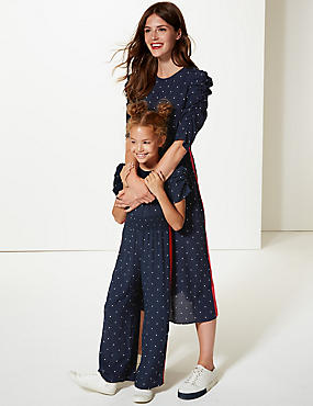Mini Me StarJumpsuit (3-16 Years)