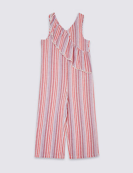 Striped Jumpsuit (3-16 Years)