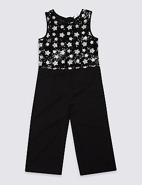 Star Sequin Jumpsuit (3-16 Years)
