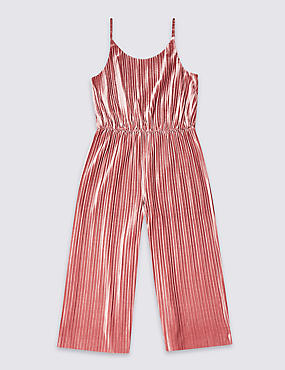 Velvet Jumpsuit (3-16 Years)