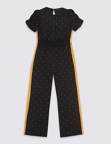Star Print Jumpsuit (3-16 Years)