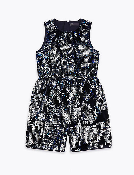 Sequin Playsuit (3-16 Years)