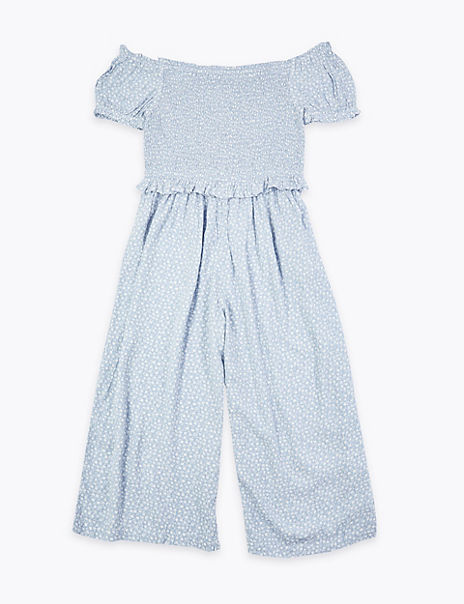Ditsy Floral Print Jumpsuit (6-16 Years)