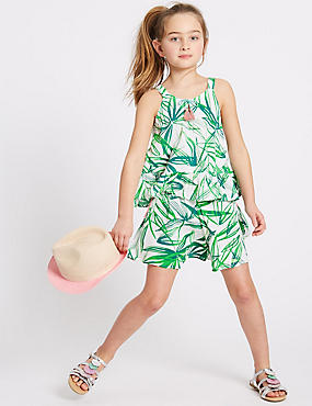 2 Piece Printed Top & Shorts Outfit (3-16 Years)