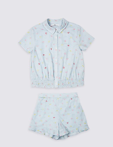 2 Piece Top & Shorts Outfit (3-16 Years)