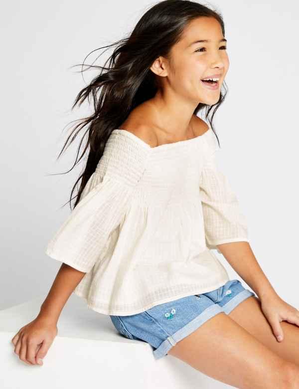 9b6c87f3948 Tops | Girls Clothes - Little Girls Designer Clothing Online | M&S