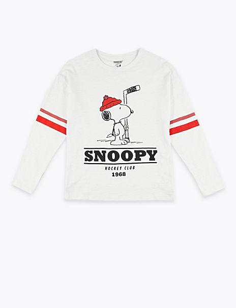 Snoopy™ Print Top (3-16 Years)