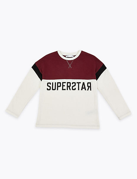 Cotton Superstar Top (3-16 Years)