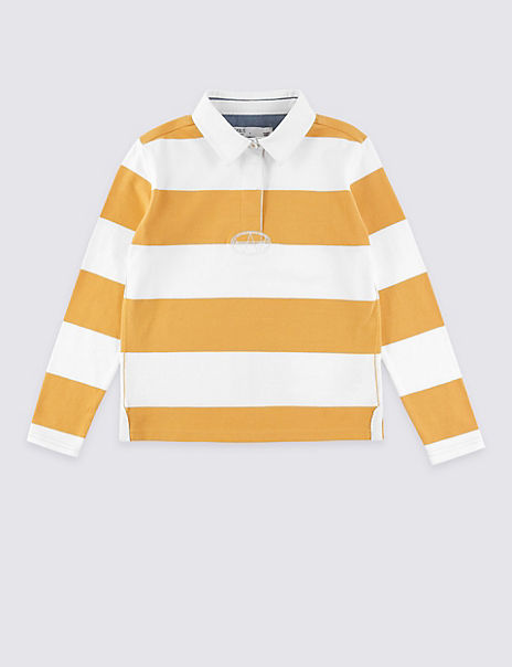 Striped Rugby Top (3-16 Years)