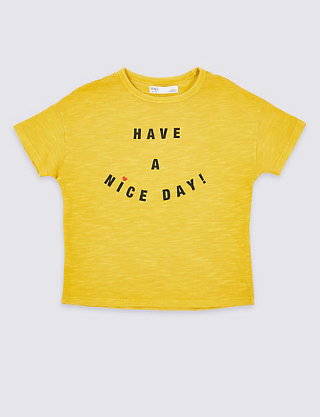 Have A Nice Day T-Shirt (3-16 Years)